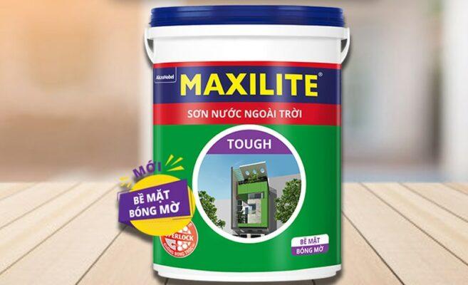 sơn nước ngoài trời maxilite tough