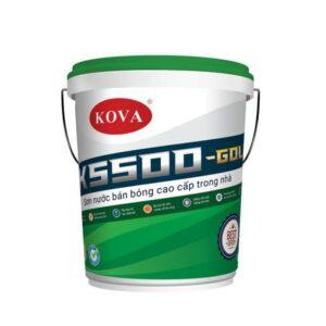 sơn bán bóng trong nhà kova k5500 gold