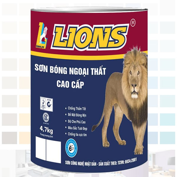 Sơn bóng ngoại thất lions
