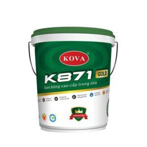 sơn bóng cao cấp trong nhà kova k871 gold