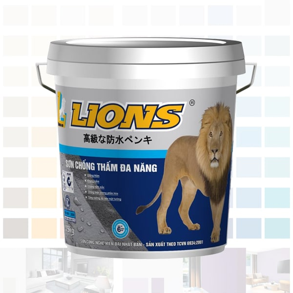 sơn chống thấm lions đa năng