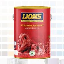 sơn giả đá lions cao cấp