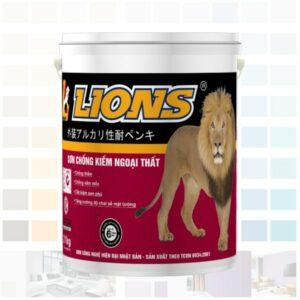 sơn lót kháng kiềm ngoại thất lions cao cấp