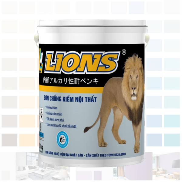 sơn kháng kiềm nội thất lions cao cấp