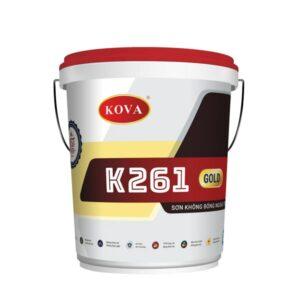 Sơn không bóng ngoài trời Kova K261 Gold