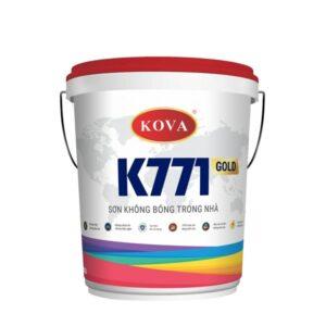 sơn không bóng trong nhà kova k771 gold