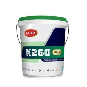 sơn không bóng trong nhà Kova k260 gold