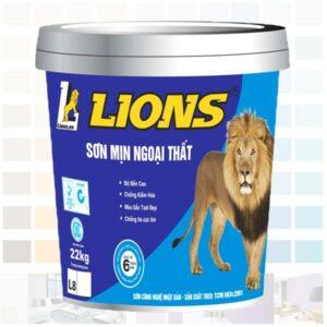 sơn mịn ngoại thất lions