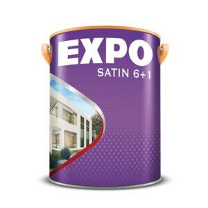 sơn nước ngoài trời expo satin 6+1 for exterior