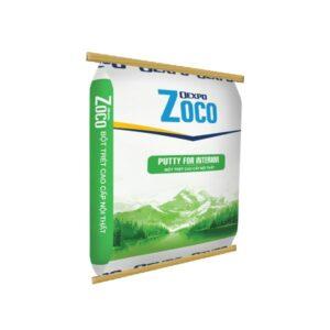 bột trét tường trong nhà oexpo zoco putty for interior