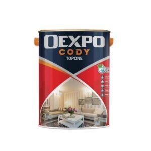 sơn bóng nội thất Oexpo Cody Topone