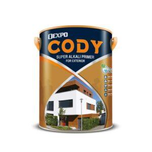 sơn lót ngoài trời Oexpo Cody Super Alkali Primer For Exterior